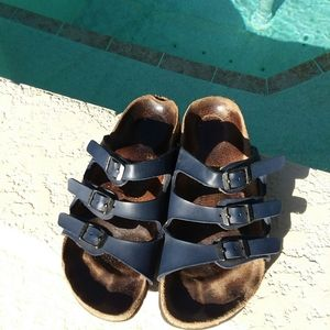 BIRKENSTOCK Navy Blue Sandal Shoe Size 6
